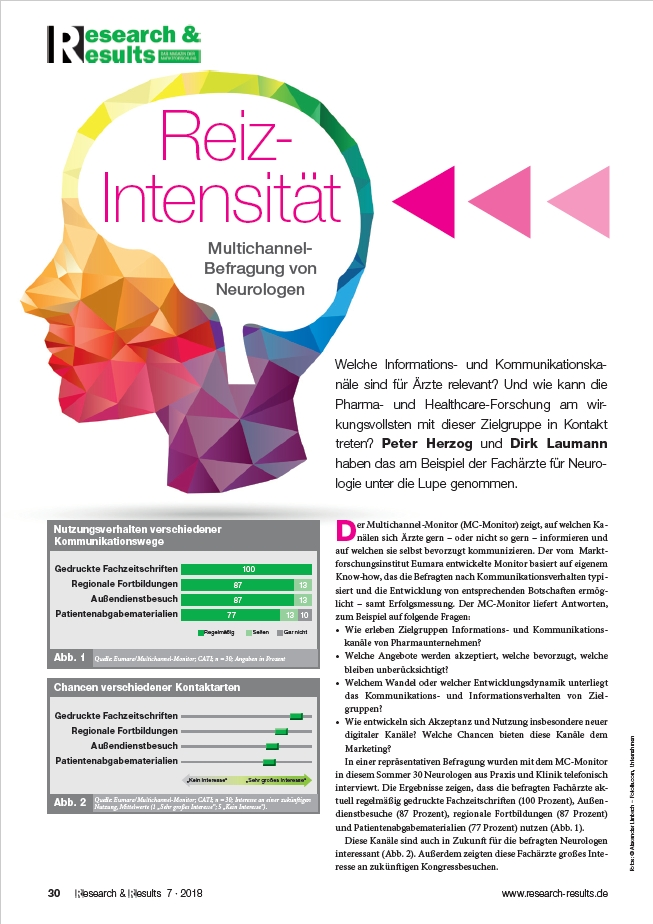 2018 12 ResearchResults Eumara Multichannel Befragung von Neurologen