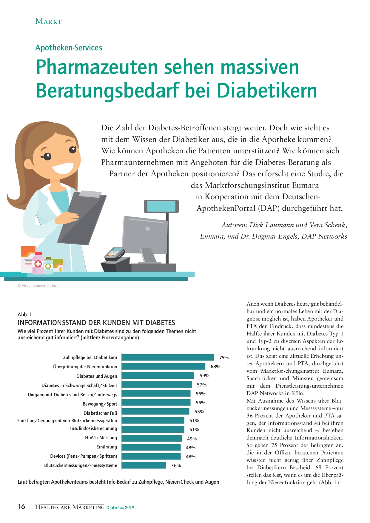2019 11 EUMARA Healthcare Marketing Sonderheft 11 19 Diabetes1